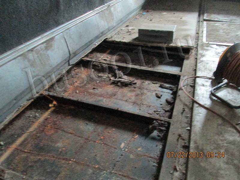 Восстановительные работы кузова автобуса