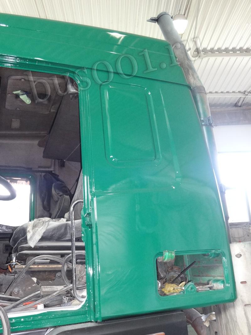 Покраска грузового автомобиля МАЗ