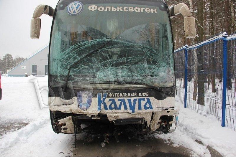 Кузовной ремонт автобуса MAN