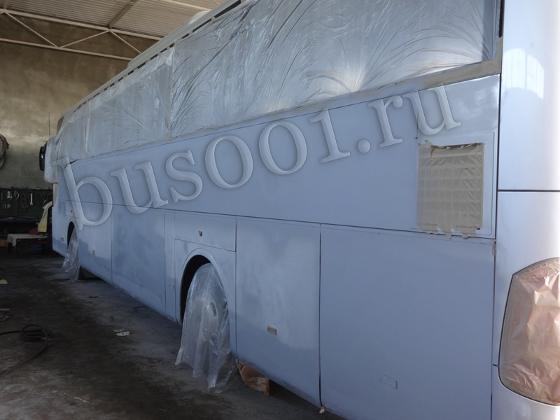 Полная покраска автобуса