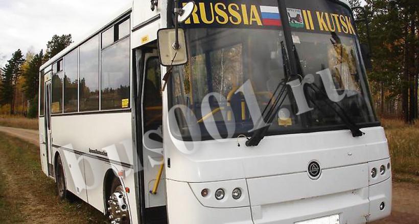 Аренда  пассажирского автобуса Аврора